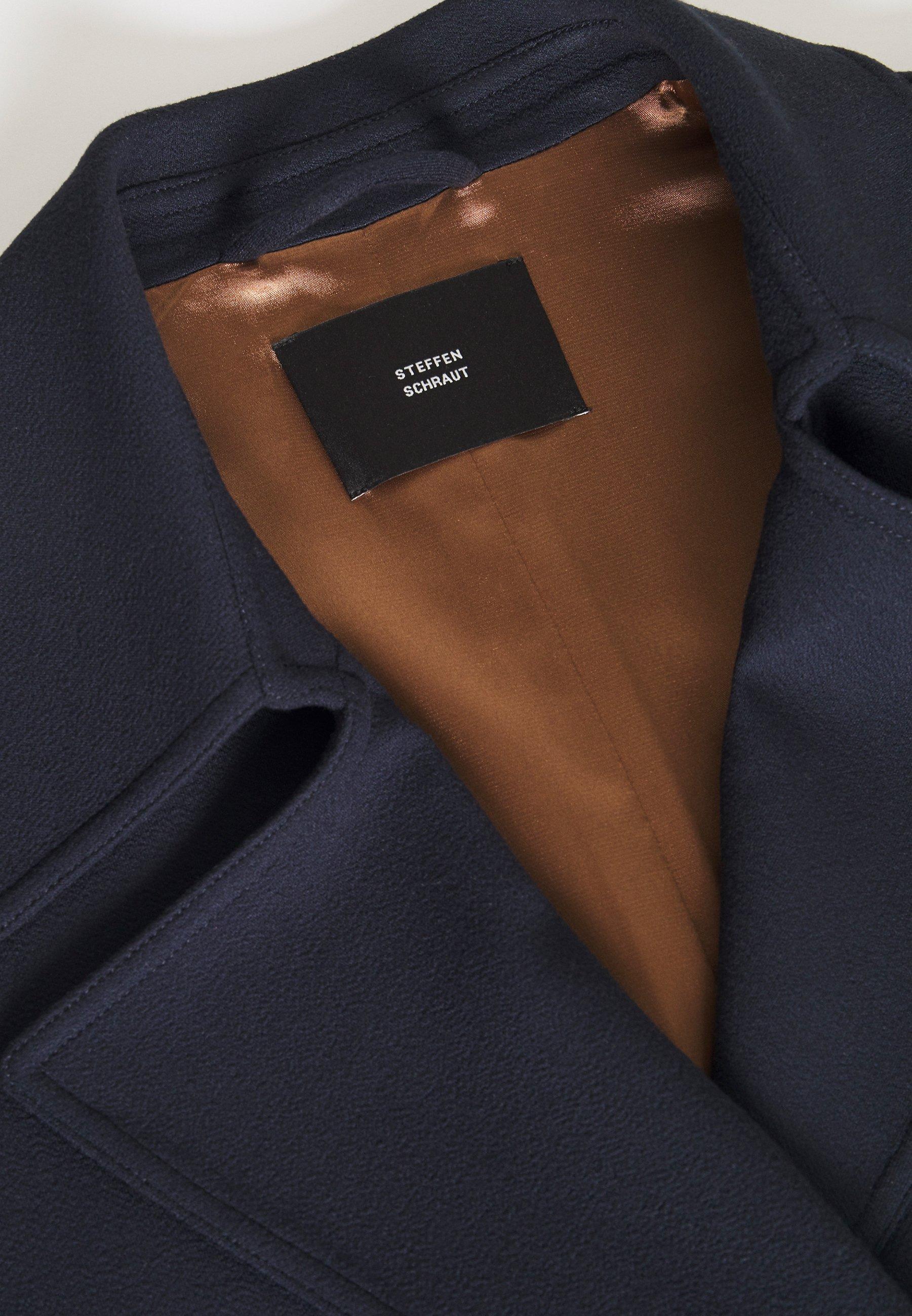 The cheapest Wholesale Steffen Schraut GERMAIN COAT - Classic coat - dark blue | women's clothing 2020 vmJPh