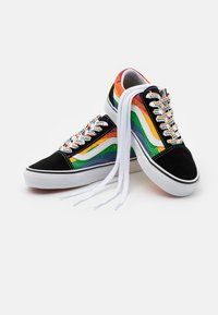 Vans - OLD SKOOL - Sneakers basse - black/multicolor/true white - 5