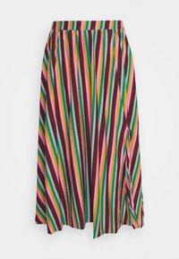 Glamorous Petite - STRIPE - A-line skirt - pink green - 0
