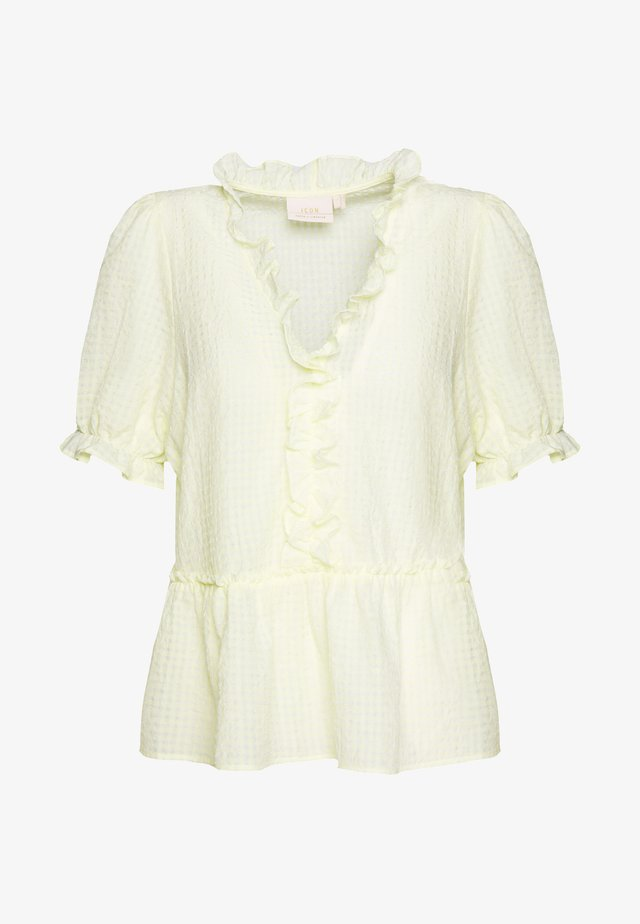 AMY BLOUSE - Pusero - young wheat