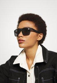 Superdry - COMBAT - Sunglasses - rubberised black - 1