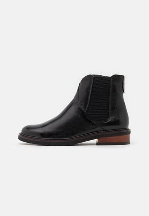 ORLAYA - Classic ankle boots - black/dattero