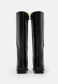 Tory Burch - SQUARE TOE BOOT - Vysoká obuv - perfect black - 2