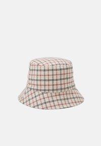 PCMADALENA BUCKET HAT - Hat - brown sugar/red/brown
