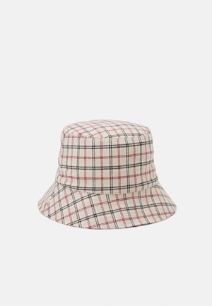 PCMADALENA BUCKET HAT - Klobouk - brown sugar/red/brown