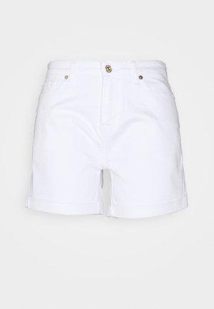 BOY  - Denim shorts - white