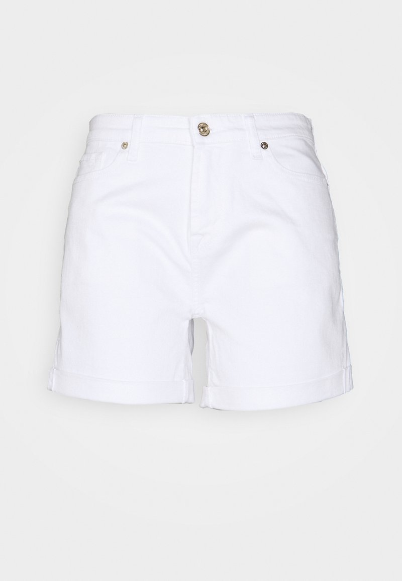 7 for all mankind - BOY  - Denim shorts - white