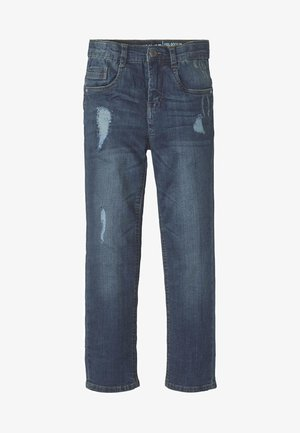 Jeans Straight Leg - dark blue denim