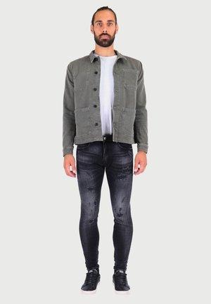 POWERC - Slim fit jeans - black