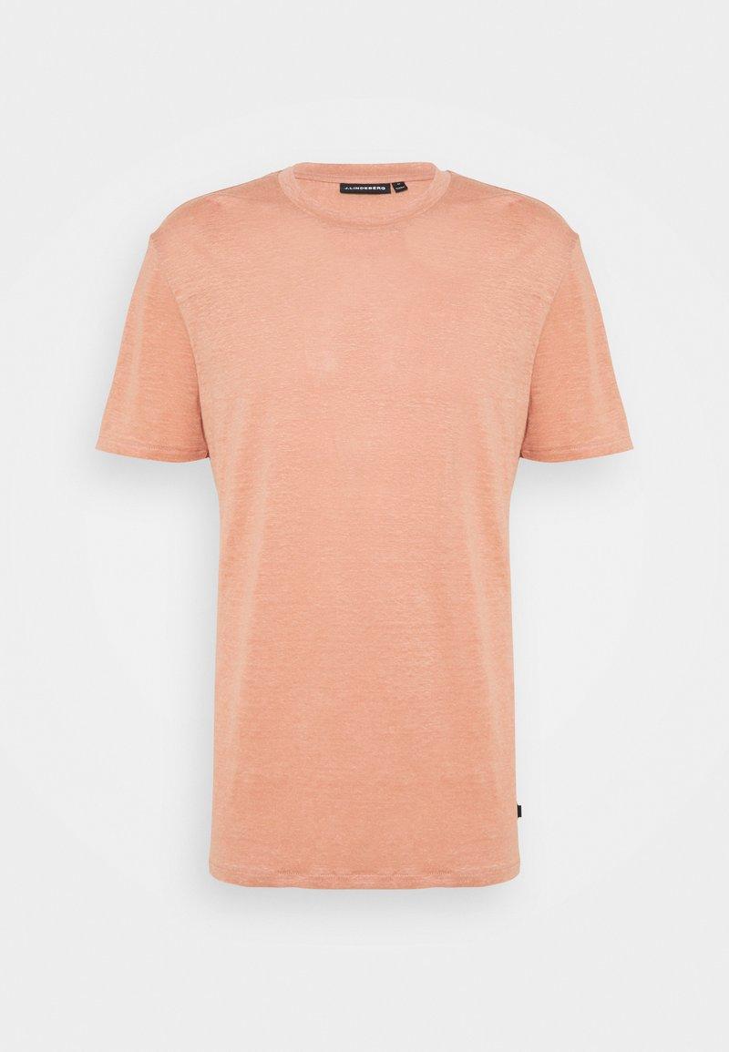 J.LINDEBERG - COMA - Basic T-shirt - rose coppar