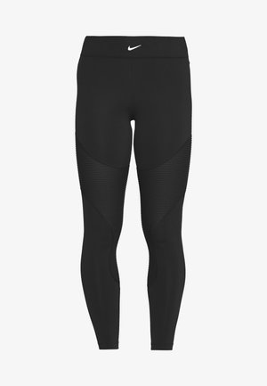 AEROADAPT - Leggings - black/metallic silver