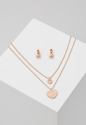 ASTA SET - Earrings - rose gold-coloured