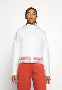 Nike Sportswear - TRANSPARENT - Bomberjacks - white - 0