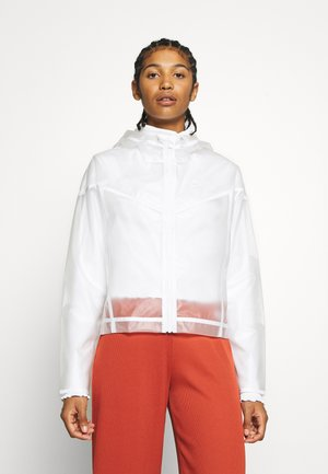 TRANSPARENT - Chaquetas bomber - white