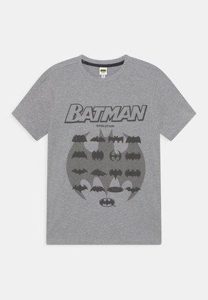 BATMAN - Print T-shirt - dark grey melange