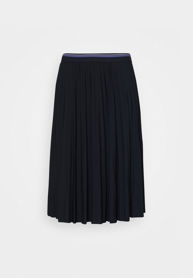 SKIRT  - Falda acampanada - sky captain blue