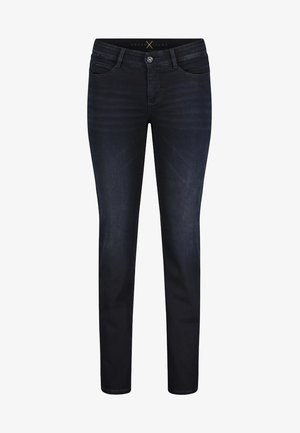 Slim fit jeans - dark wash blue/black