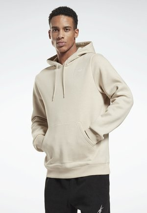 Kapuzenpullover - beige