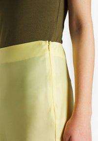NA-KD - SKIRT - A-line skirt - yellow - 4