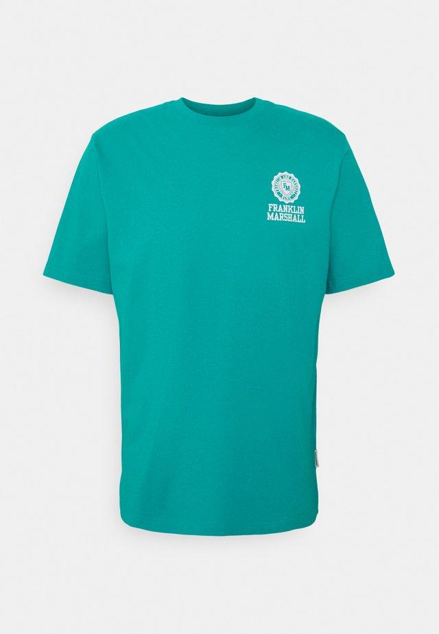 T-shirt print - water green