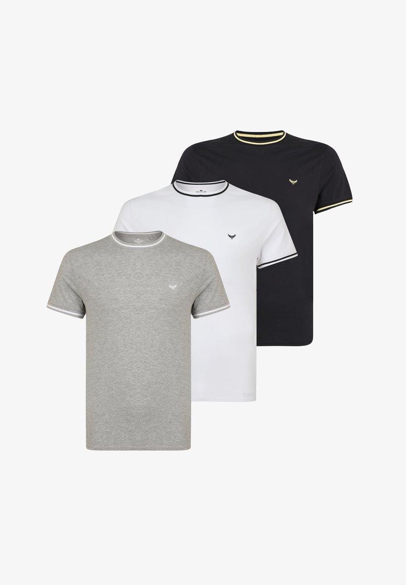 Threadbare - 3 PACK - Basic T-shirt - multi