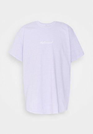PARIS TEE - T-shirt med print - lilac