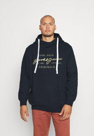 JORWOODSST HOOD - Sweatshirt - navy blazer