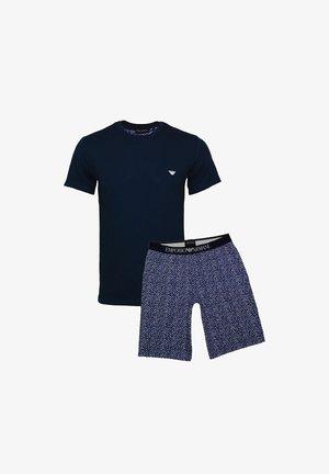 Piżama - dunkelblau