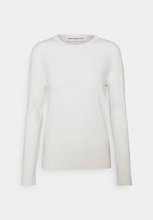 CLASSIC CREW NECK  - Jumper - vintage white