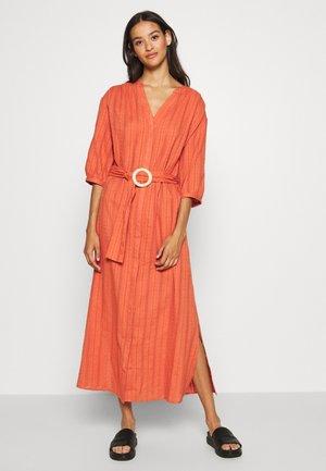 TINNA DRESS - Day dress - rostrot
