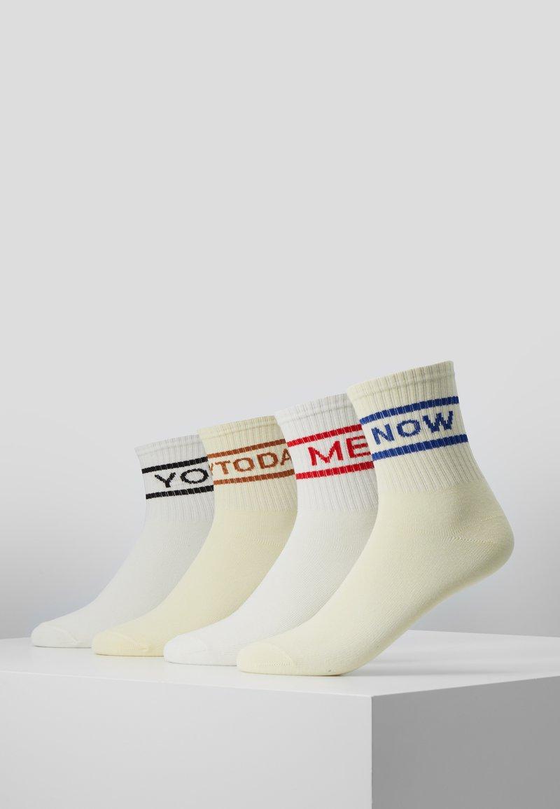Vero Moda - VMJASMINE SOCKS 4 PACK - Socks - snow white
