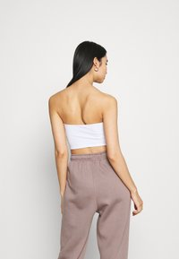 Missguided - SCULPTED SEAM FREE BASIC BANDEAU 3 PACK - Top - black/white/red - 3