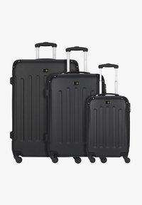 Travel Pal - BERLIN 4-ROLLEN KOFFERSET 3TLG. - Luggage set - schwarz - 0