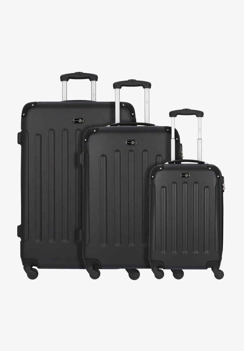 Travel Pal - BERLIN 4-ROLLEN KOFFERSET 3TLG. - Luggage set - schwarz