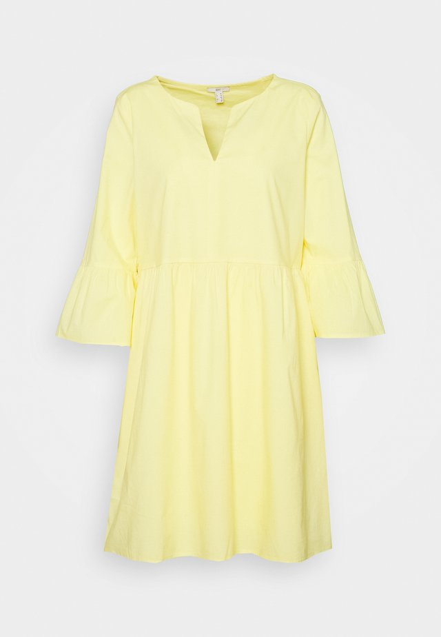 DRESS - Kjole - light yellow