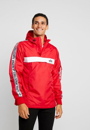 AL TAPE ANORAK - Light jacket - speed red