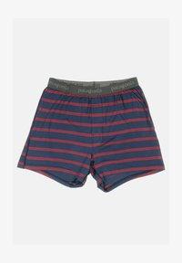 Patagonia - Pants - pier stripe / new navy - 0