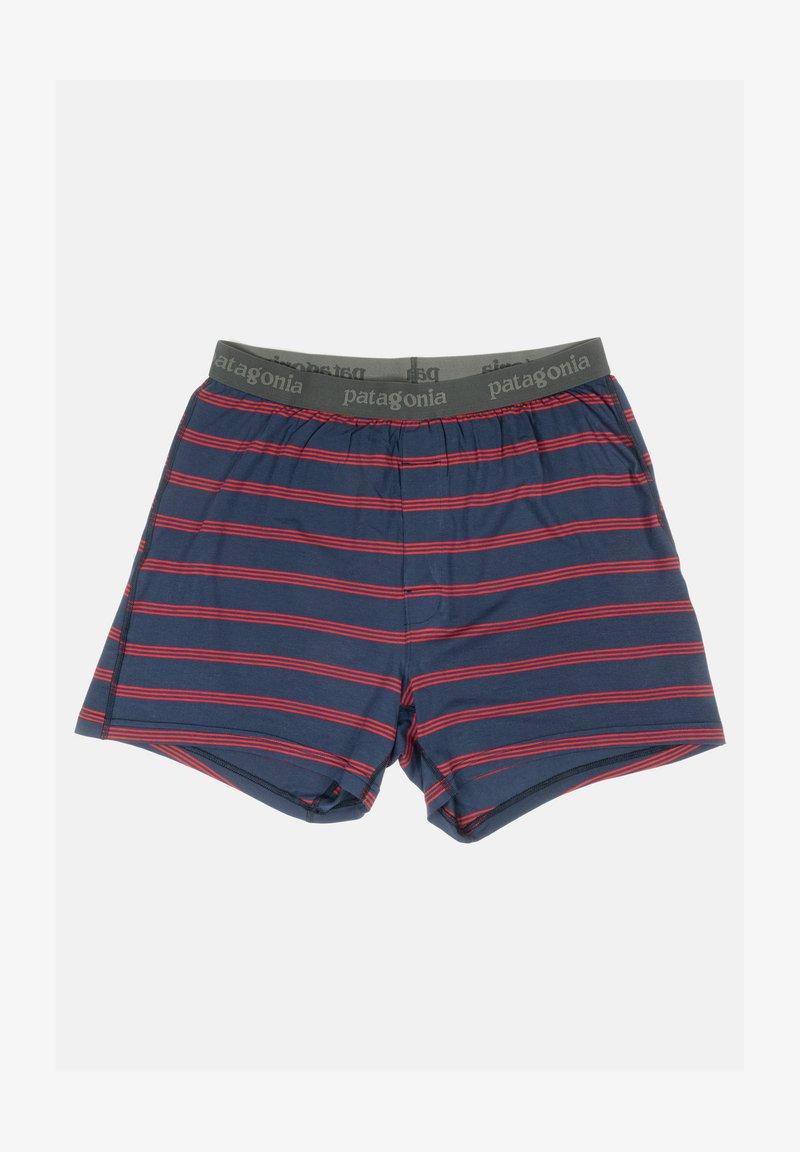 Patagonia - Pants - pier stripe / new navy