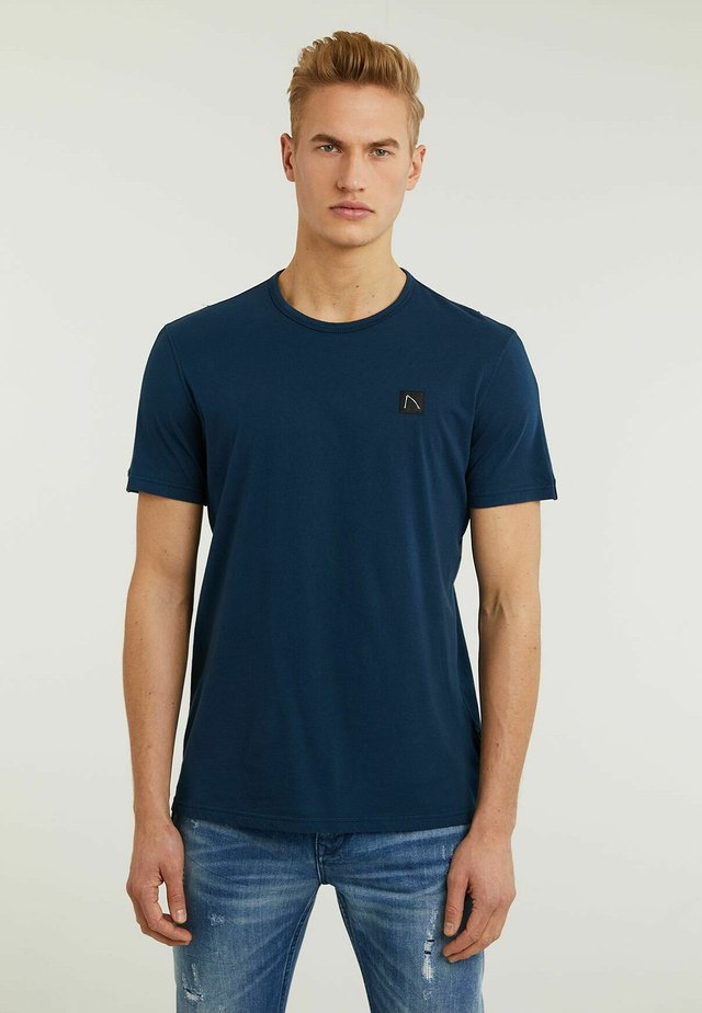 APPOLLO - T-shirt basic - blue