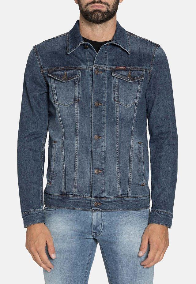 Giacca di jeans - lavaggio blu medio