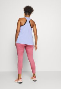 Nike Performance - ONE PLUS  - Tights - desert berry - 2