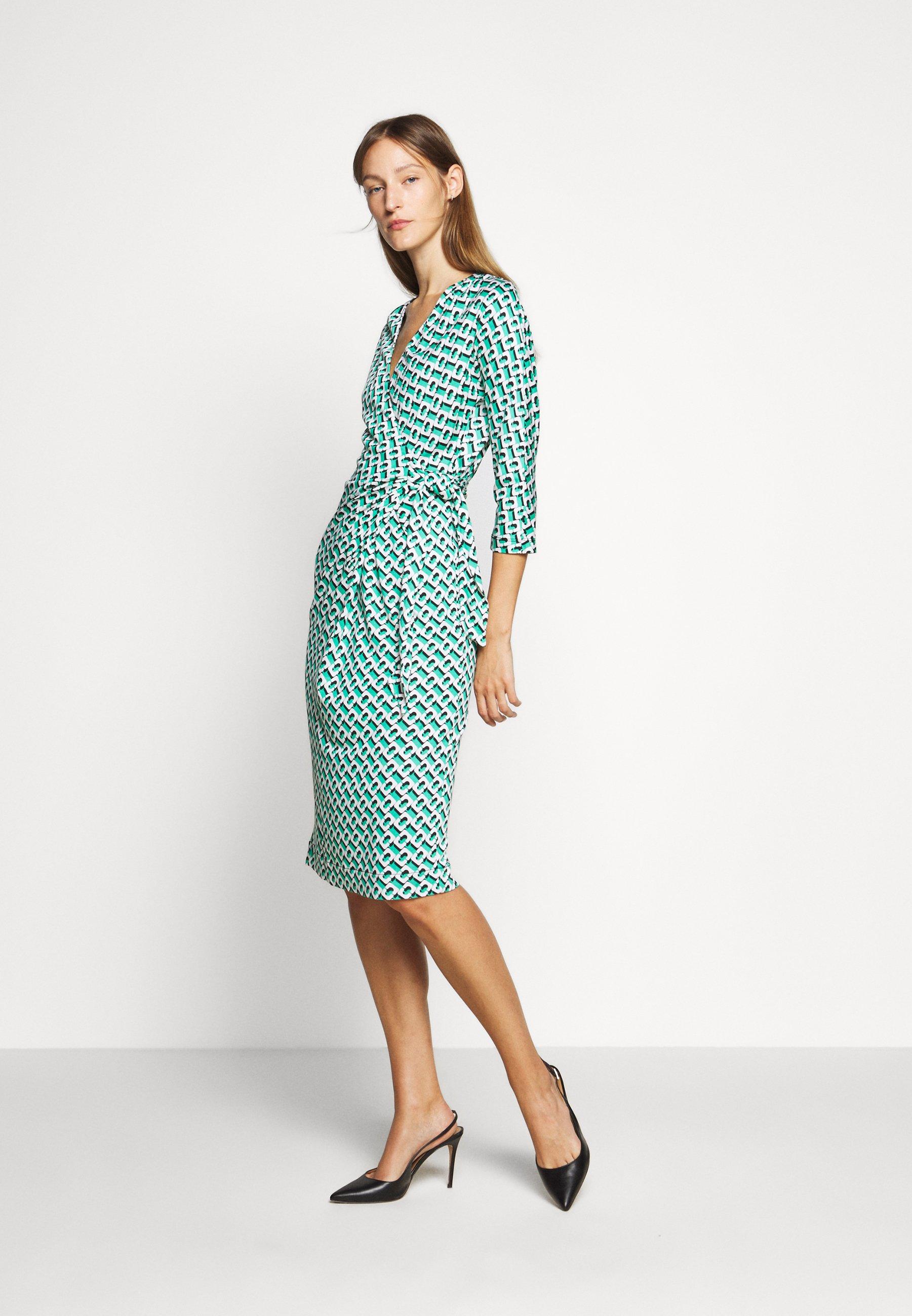 Zakup Duża obniżka Diane von Furstenberg ISADORA - Sukienka letnia - green | Odzież damska 2020 TsgFh