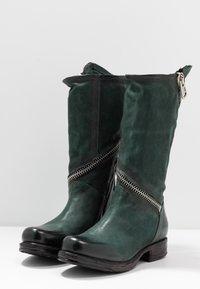 A.S.98 - Cowboy/Biker boots - balsamic - 4