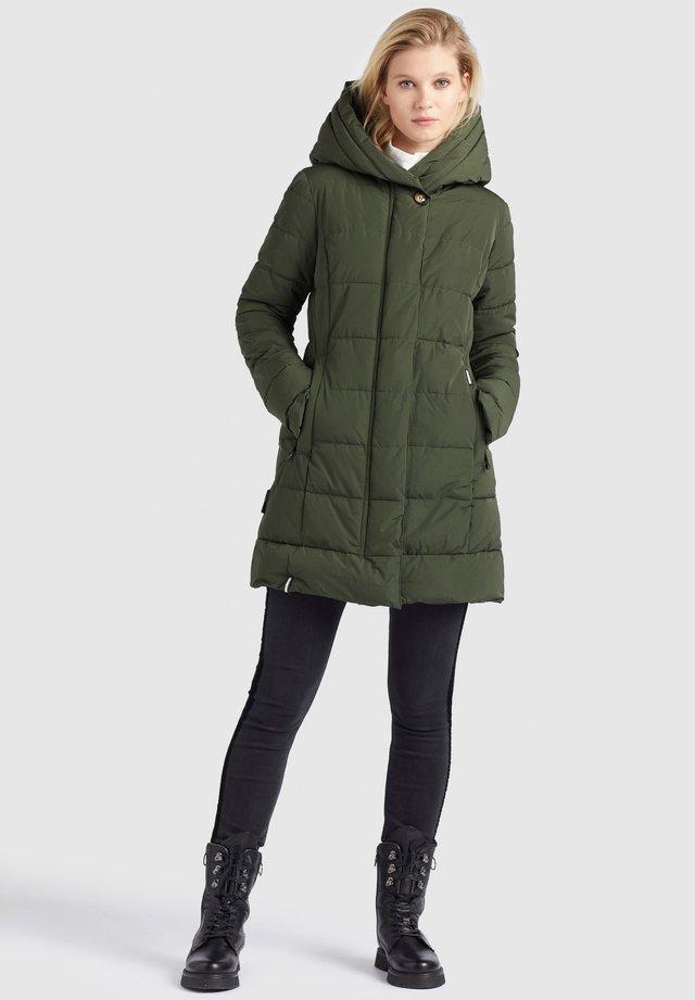 SILLA - Cappotto invernale - oliv