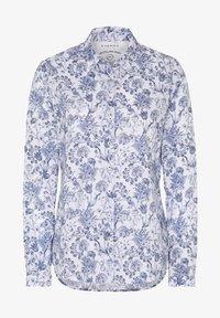 Eterna - MODERN CLASSIC - Button-down blouse - blau/weiß - 2