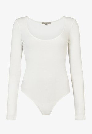 ADDIE  - Long sleeved top - white