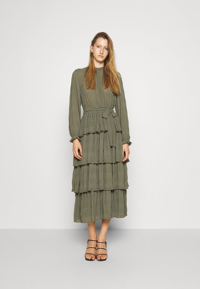 JUSTINA SANA DRESS - Robe chemise - olive green