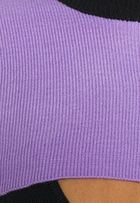 The Ragged Priest - DOUBLE LAYER - Maglione - black/lilac - 5