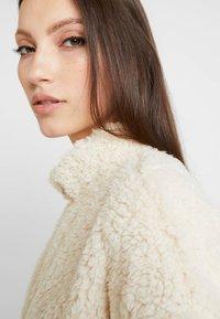 New Look - HALF ZIP - Mikina - cream - 4