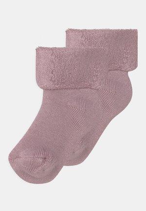 BABY SOCKS 2 PACK UNISEX - Sokken - dusty rose